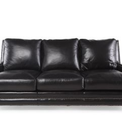Henredon Sofa Leather Light Tan Decorating Ideas Mathis Brothers