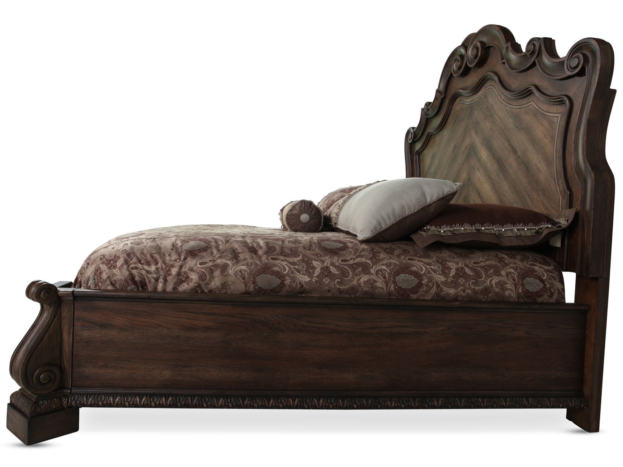 Hooker Rhapsody Panel Bed Mathis Brothers Furniture