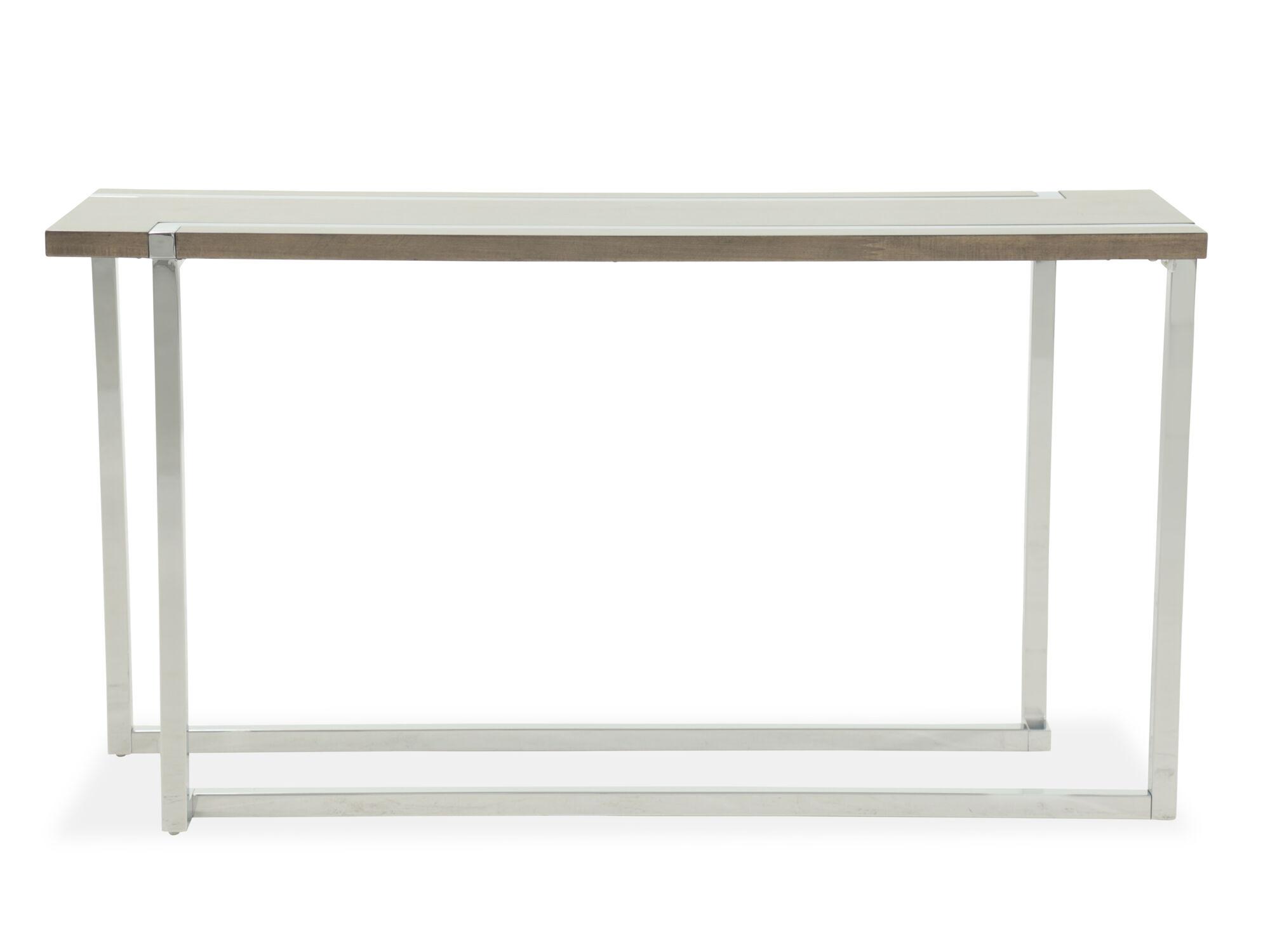 vogue chrome sofa table repair hyderabad kukatpally magnussen home kieran charcoal and