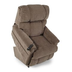 La Z Boy Lift Chair Parts Glass Table And Chairs Set Pinnacle Tobacco Recliner Mathis Brothers