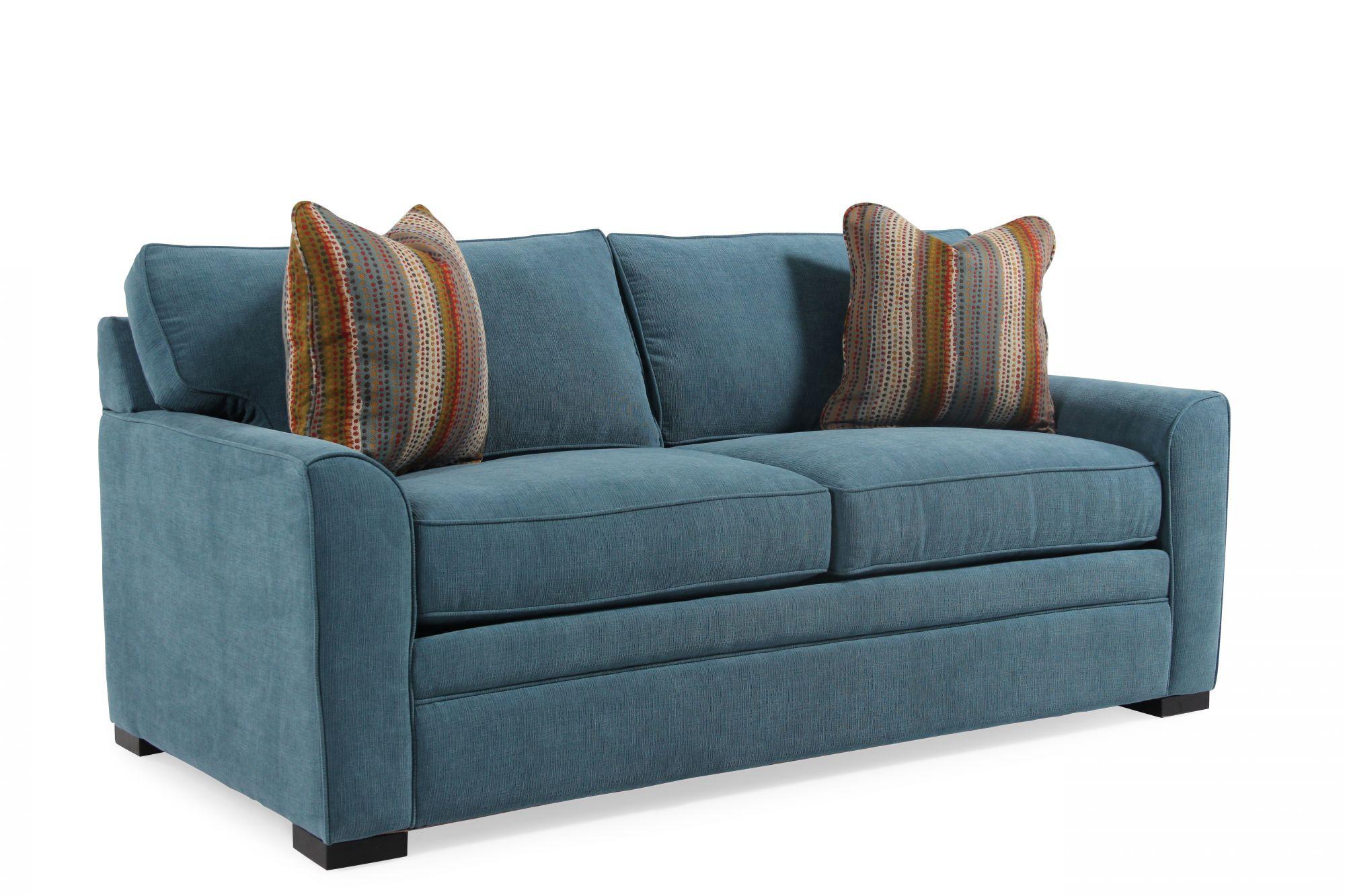 sh memory foam sleeper sofa mattress simple wooden set online jonathan louis blissful blue full