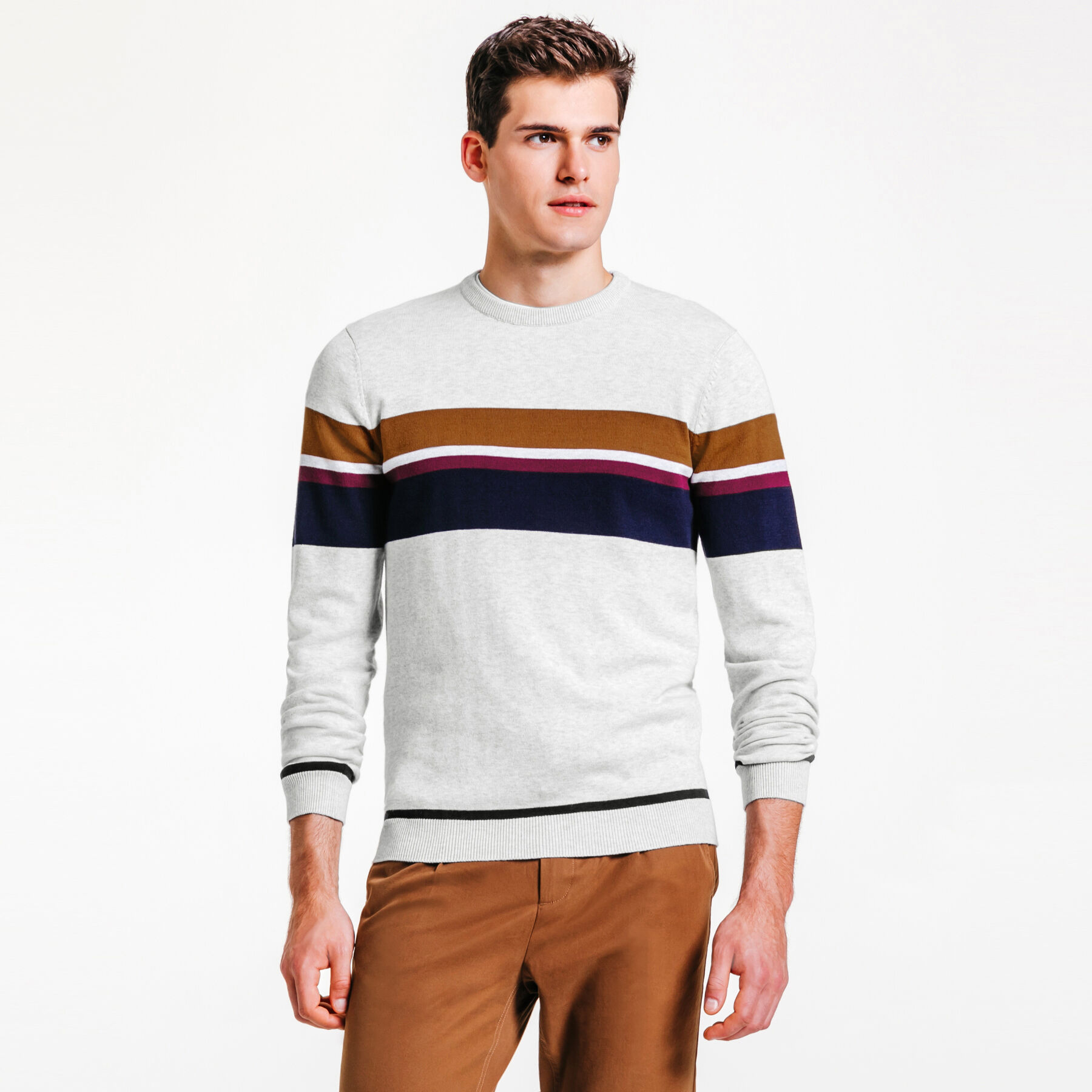 couleur taille pull raye