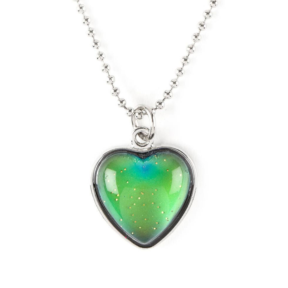 Mood Heart Pendant Necklace | Claire's US