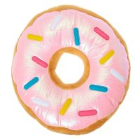 Pink Sprinkled Donut Pillow | Claire's US