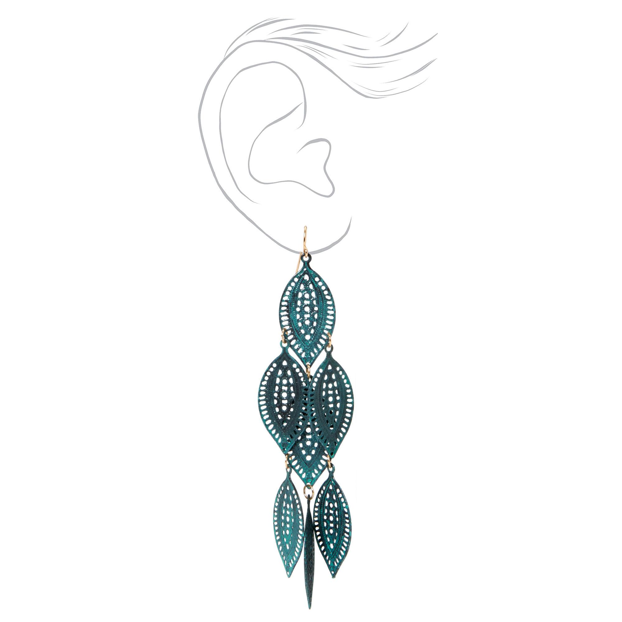 23 Pack Glitter Tip False Nails
