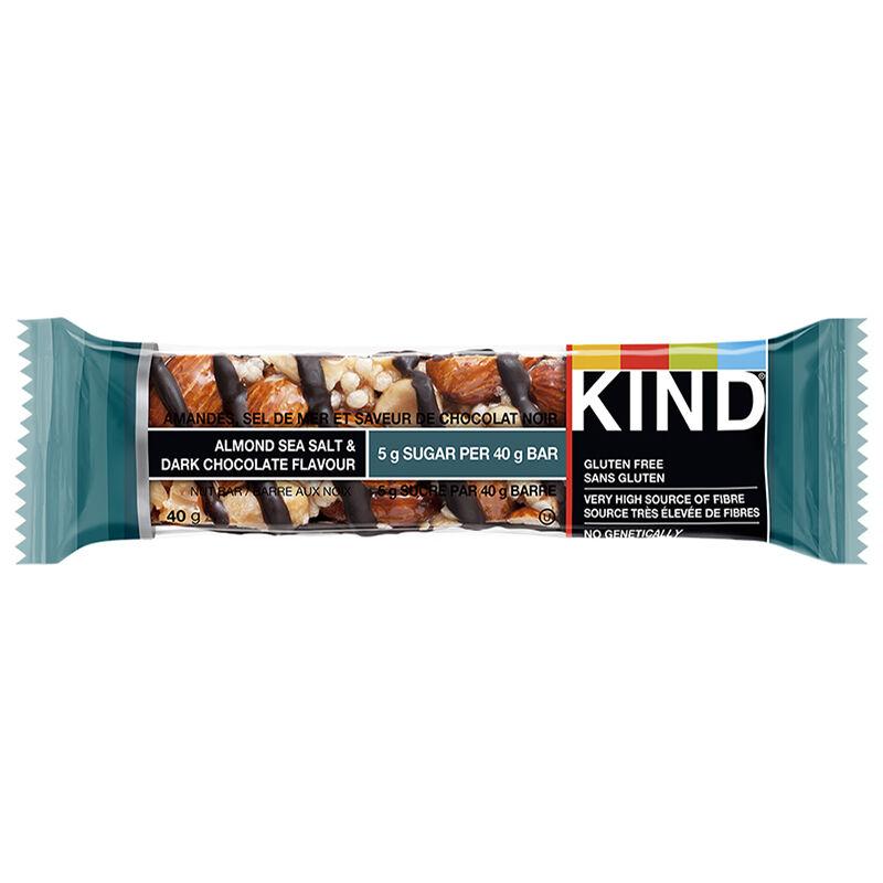 Kind Dark Chocolate Almond Sea Salt 40g London Drugs
