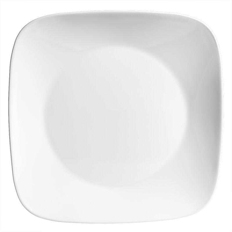 Corelle Square Pure White Dinner Plate