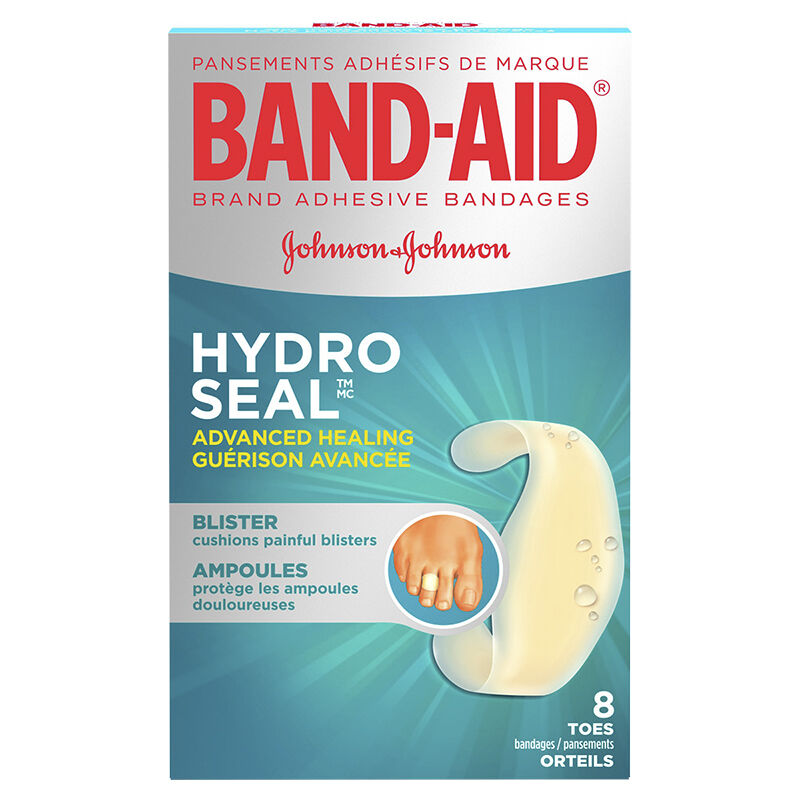 Band-Aid Advanced Healing - Blister for Fingers & Toes - 8 ...
