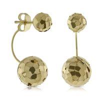 Toscano Double Ball Earrings 14K | Ben Bridge Jeweler
