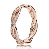 PANDORA Rose Twist of Fate Ring - null | Ben Bridge Jeweler