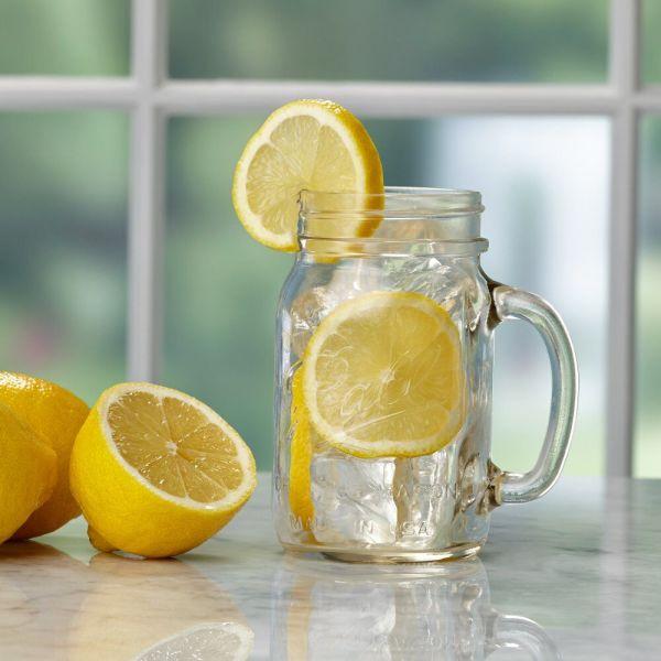 Ball Pint 16 Oz. Glass Drinking Mason Jars 4 Ct
