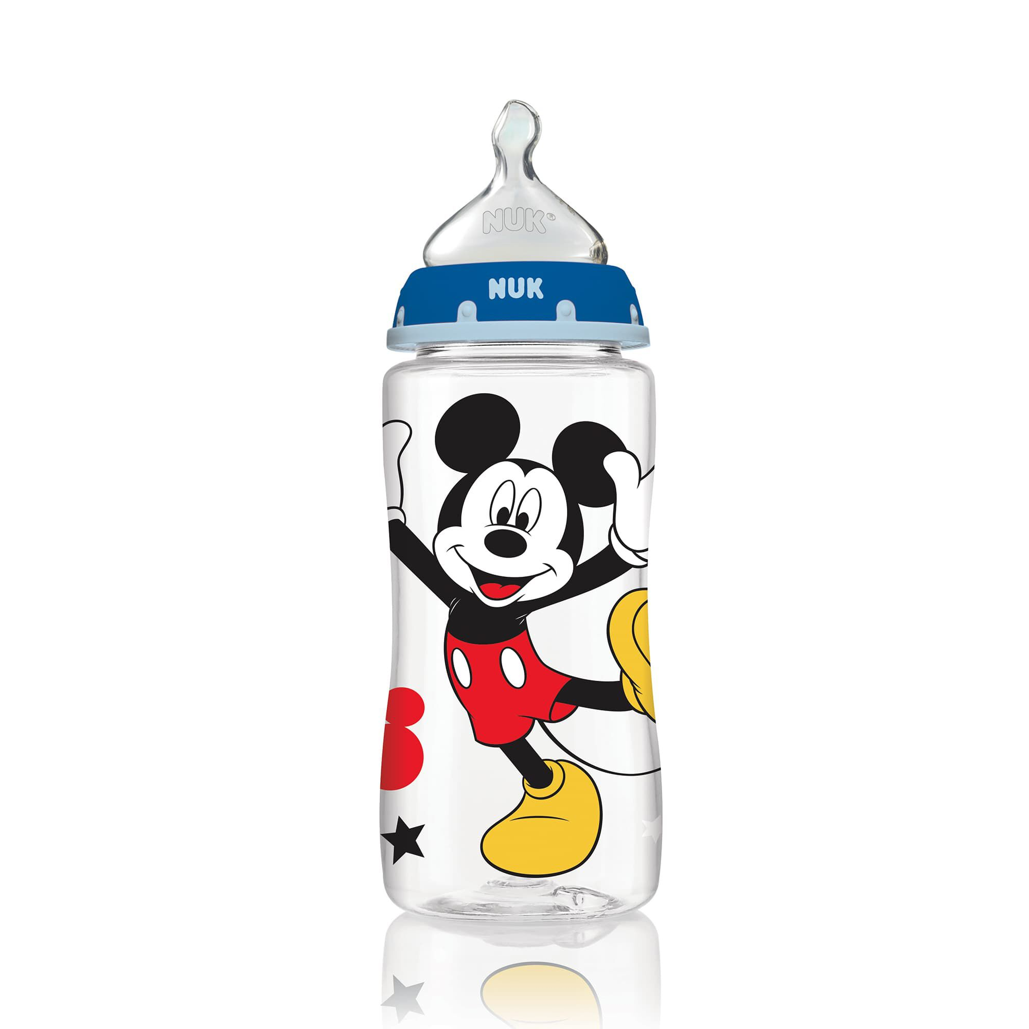 Bottle with Perfect Fit Nipple Disney Mickey Mouse Medium