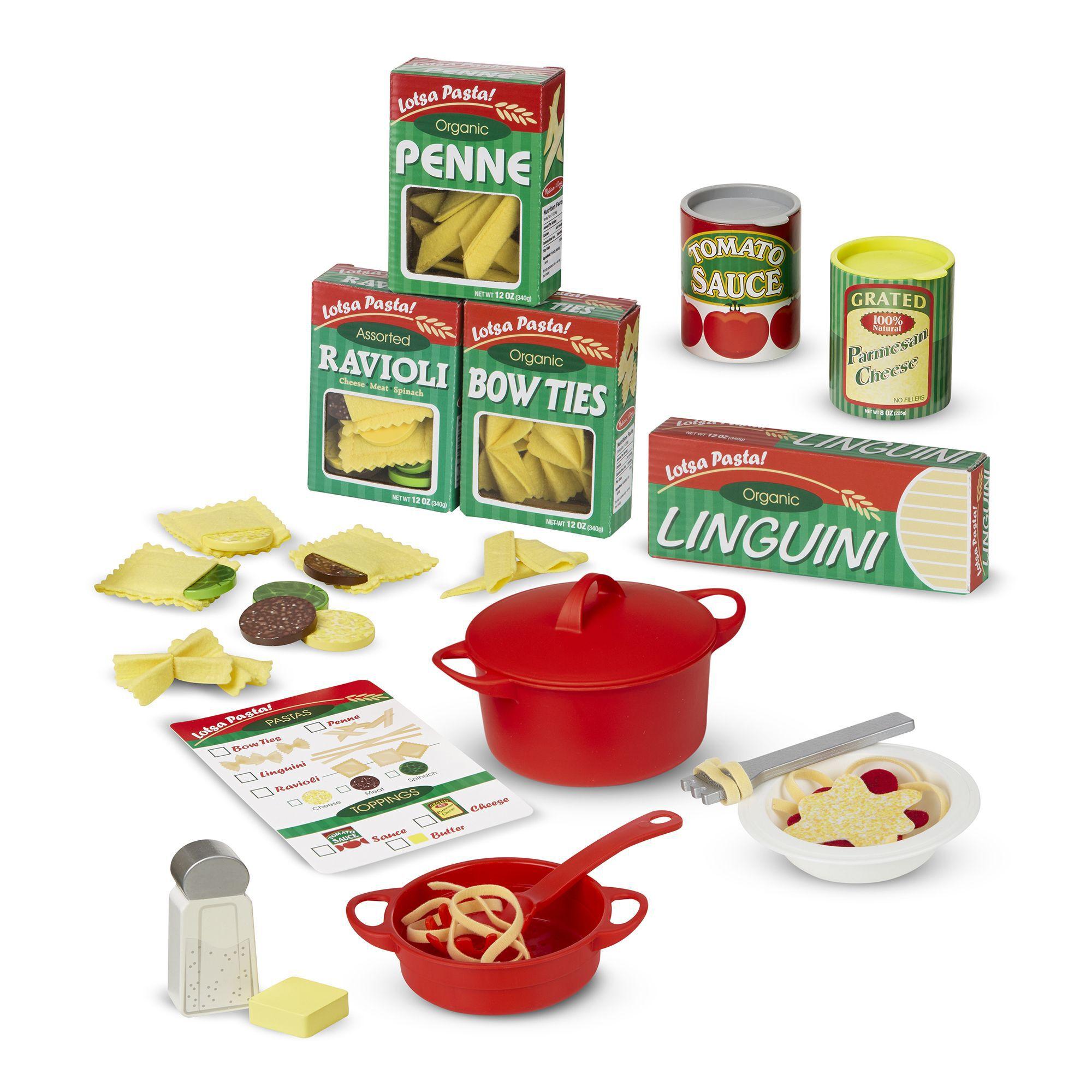 Prepare  Serve Pasta Set  Melissa And Doug