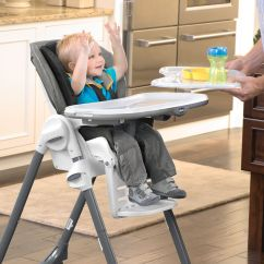 Chicco Polly High Chair Babies R Us Linen Accent Double Pad Highchair - Empire