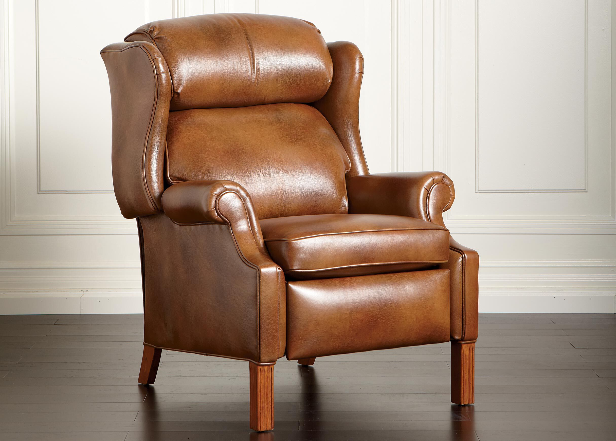ethan allen recliners chairs metal tub townsend leather recliner