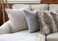 Lynx Faux Fur Pillow | Pillows