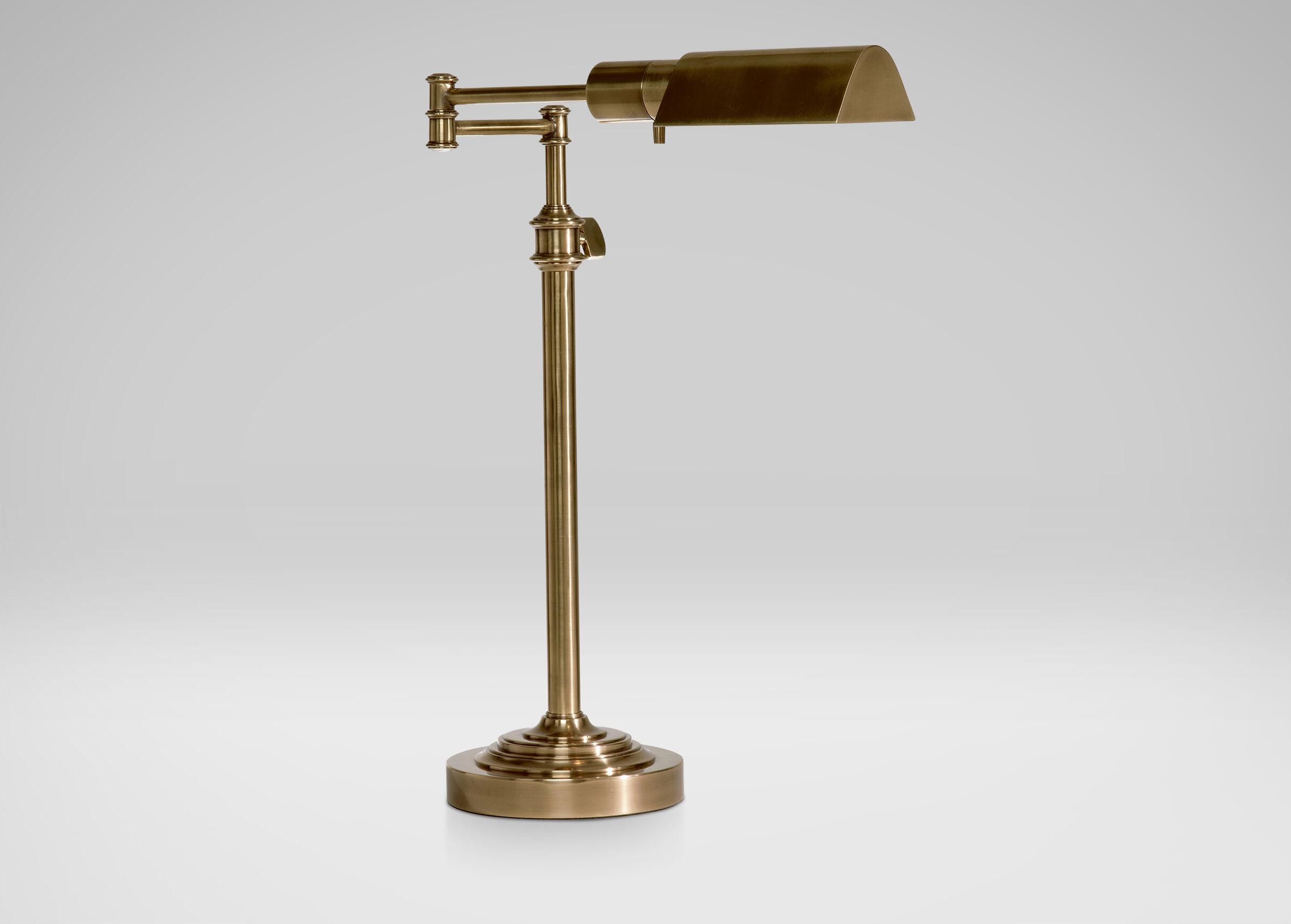 Brass Pharmacy Desk Lamp  DESK  ACCENT LAMPS