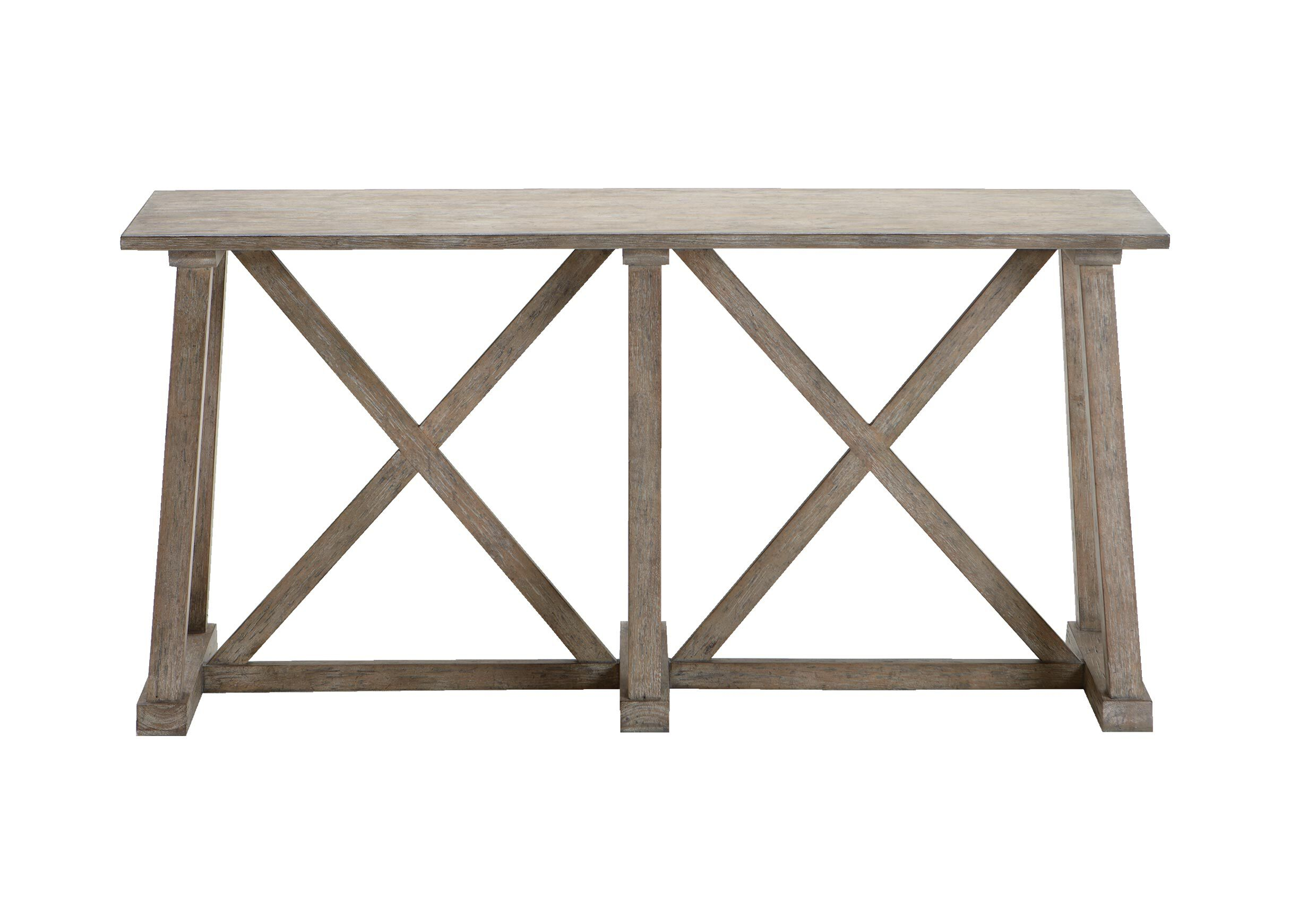 renate gray sofa table sleeper sectional modern bruckner console tables