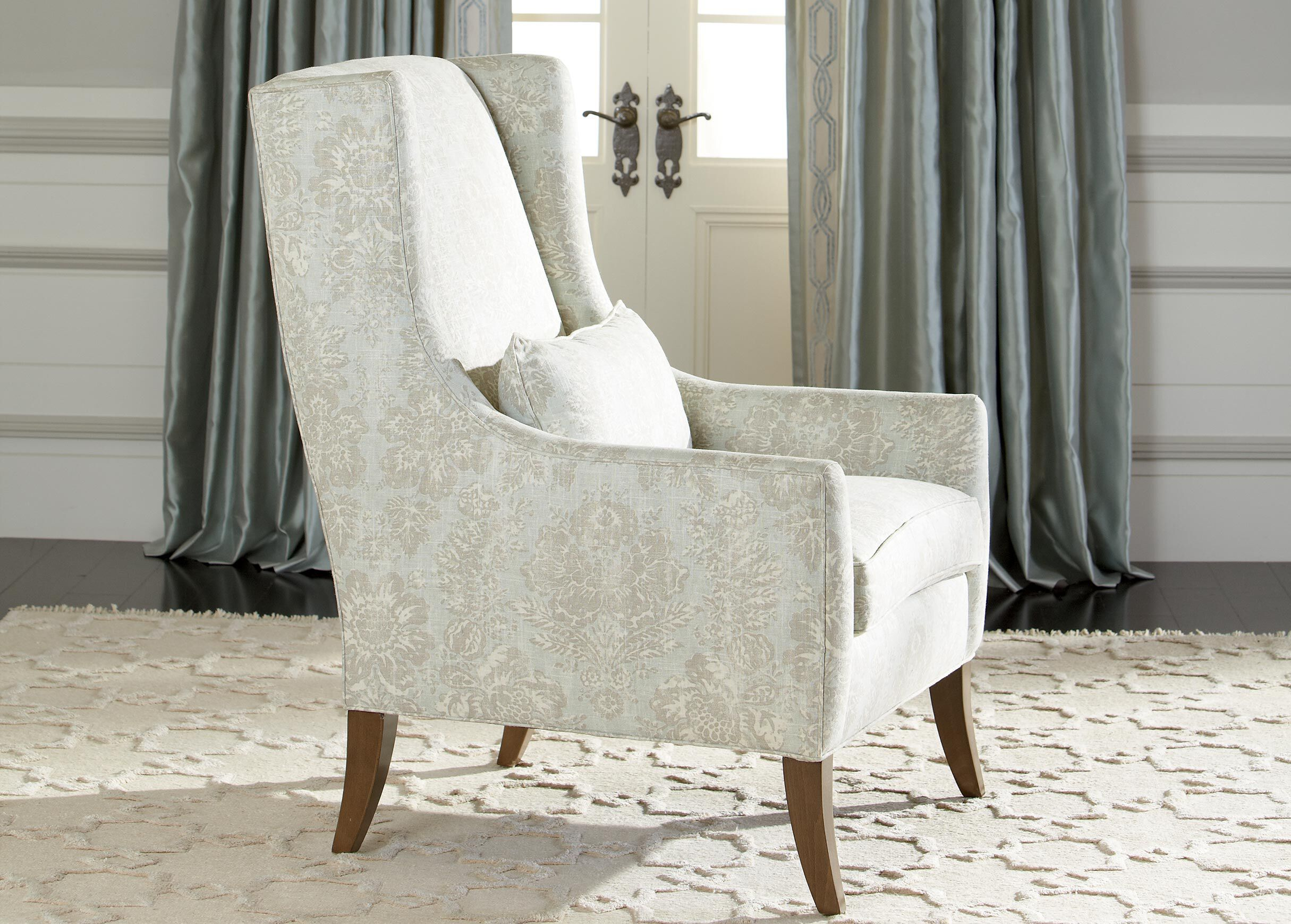 Kyle Wing Chair  Chairs  Chaises
