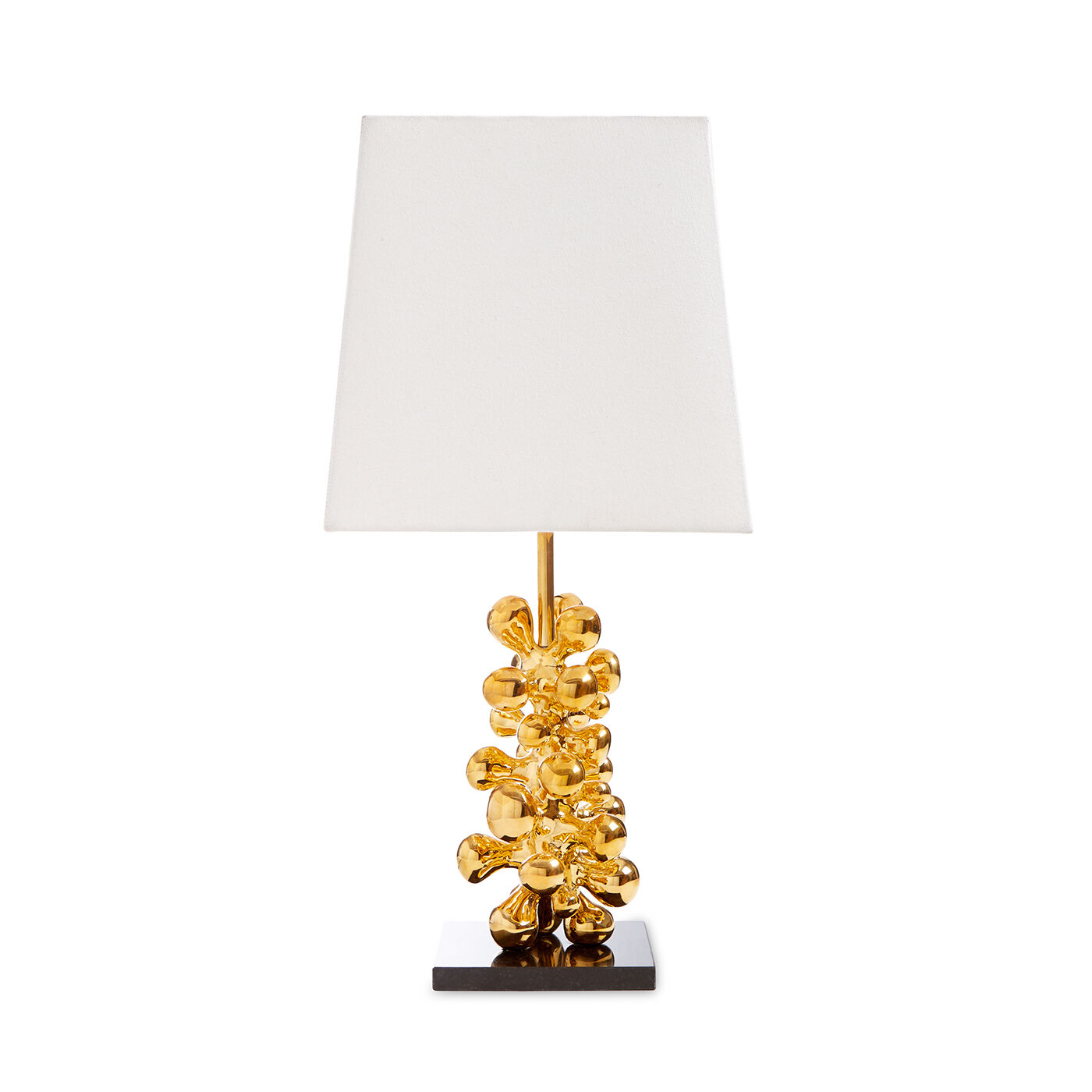 Brass Orb Table Lamp