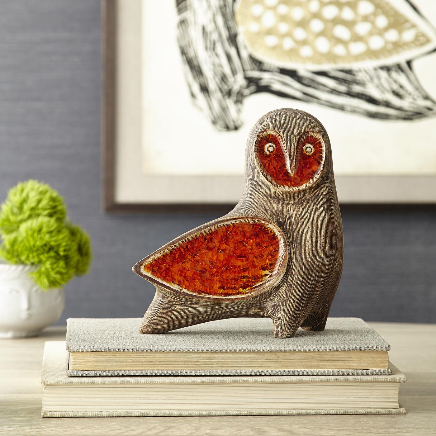 Glass Menagerie Barn Owl Pottery Jonathan Adler