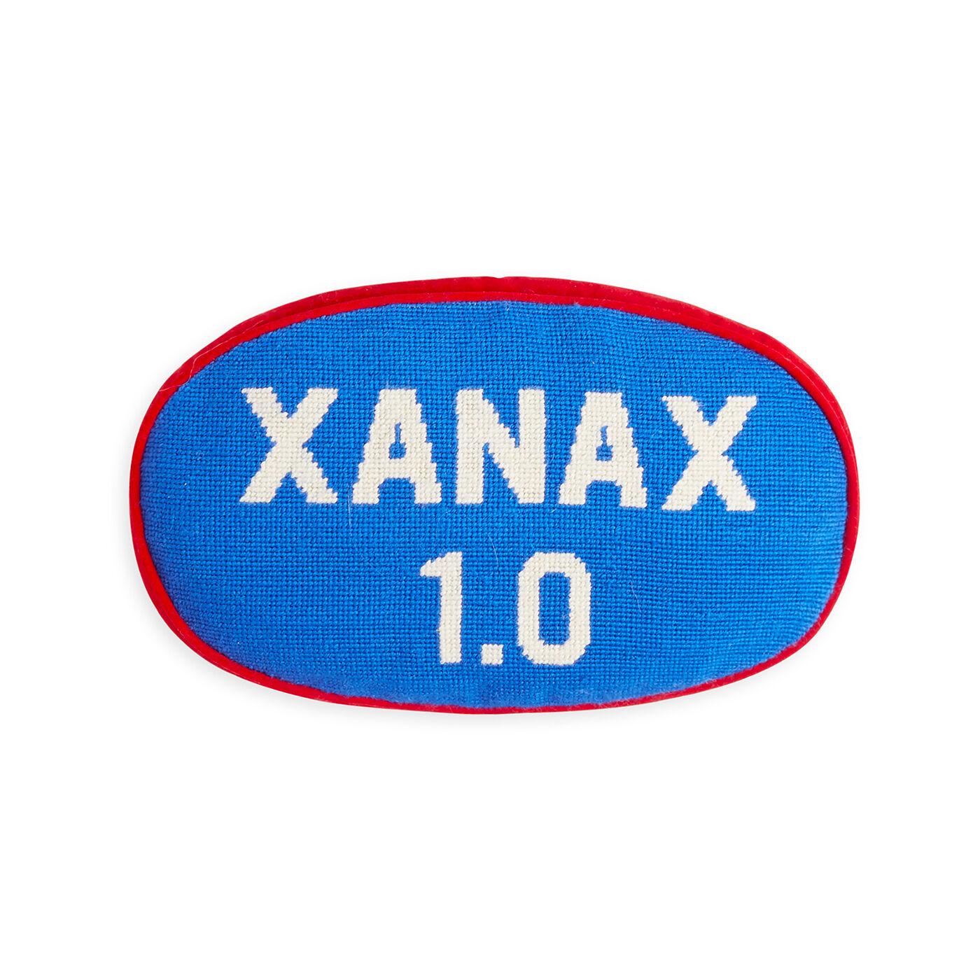 Prescription Xanax Blue Pillow  9 x 14  Jonathan Adler