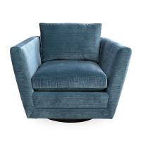 Sebastian Swivel Chair | Modern Furniture | Jonathan Adler