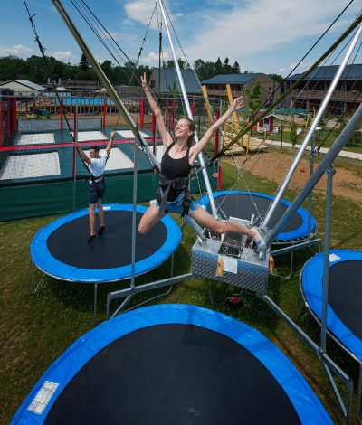 bungee trampoliny