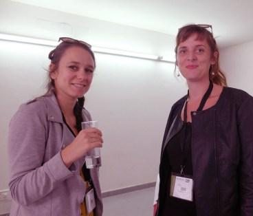 Cécile Imbernon (La Chouette Diffusion), Céline Jean (Grainerie)