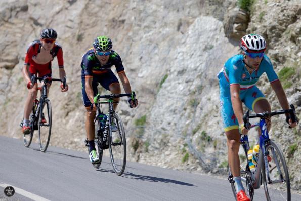 Vincenzo Nibali, Alejandro Valverde and Tejay Van Garderen