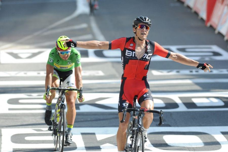 Greg Van Avermaet ganando en el Tour de Francia