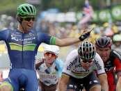 Michael Matthews se lleva al sprint la primera etapa de la Vuelta al País Vasco