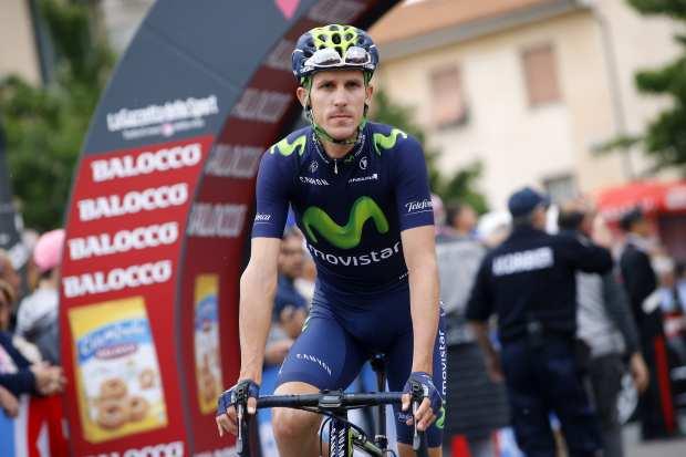 Rubén Fernández en el Giro de Italia 2015
