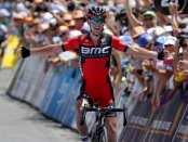 Richie Porte ganando en el Tour Down Under