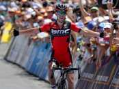 Richie Porte ganando en el Tour Down Under