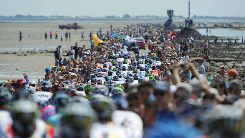 Tour de Francia en la región de Pays de Loire