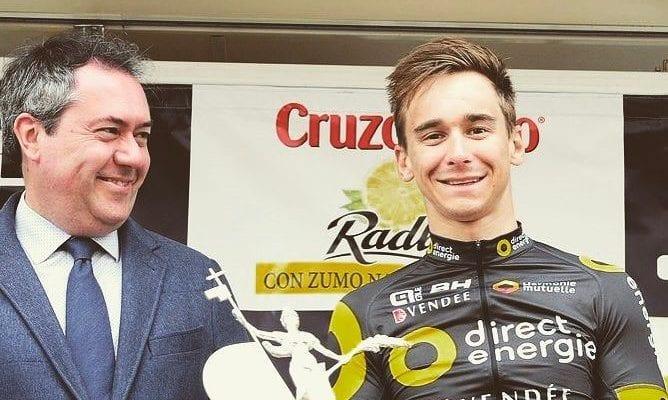 Coquard gana la cuarta etapa de la Vuelta a Andalucía