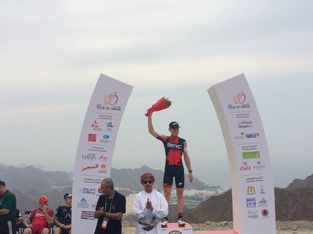 Ben Hermans gana la segunda etapa del Tour de Omán
