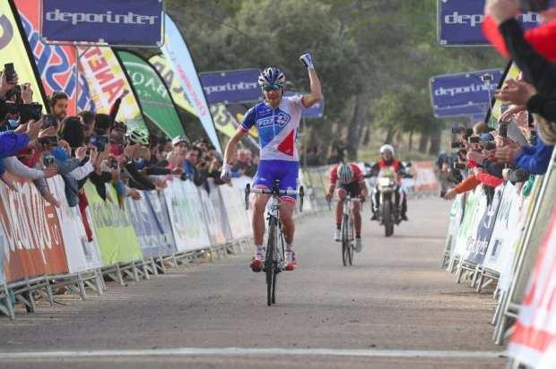 Pinot gana la segunda etapa de la Vuelta a Andalucía