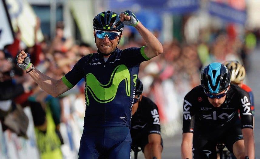Valverde gana la primera etapa de la Vuelta a Andalucía