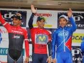 Podio de la Vuelta a Andalucía