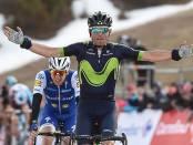 Valverde gana en La Molina
