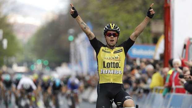 Roglic gana la cuarta etapa de la Vuelta al Pais Vasco