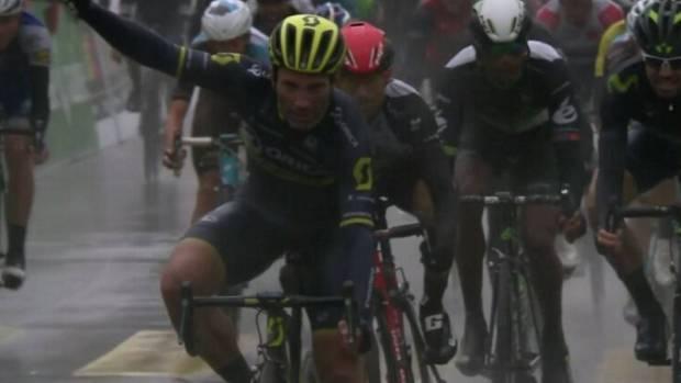 Michele Albasini gana la 1ª etapa del Tour de Romandía