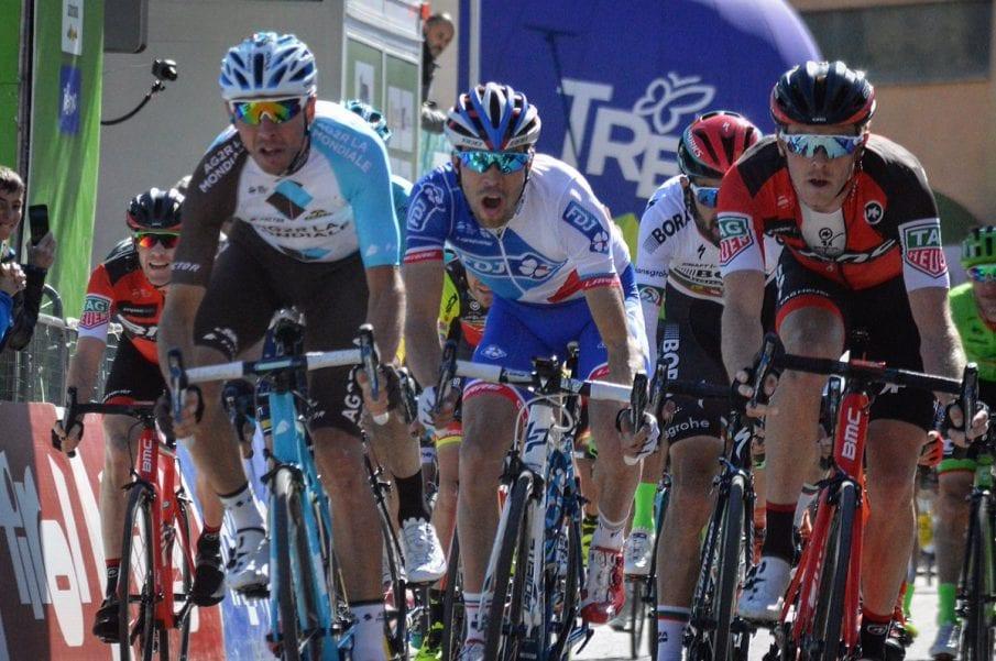 Montaguti gana la cuarta etapa del Tour de los Alpes