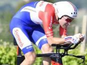 Tom Dumoulin gana la crono del Giro de Italia