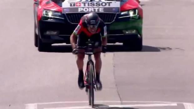 Richie Porte gana la crono de Criterium du Dauphiné