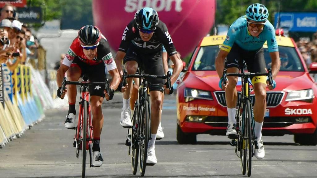 Jakob Fuglsang se lleva la sexta etapa del Criterium Du Dauphine