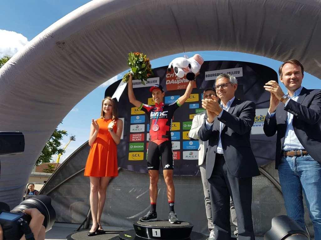 Richie Porte gana la crono de Criterium Du Dauphine