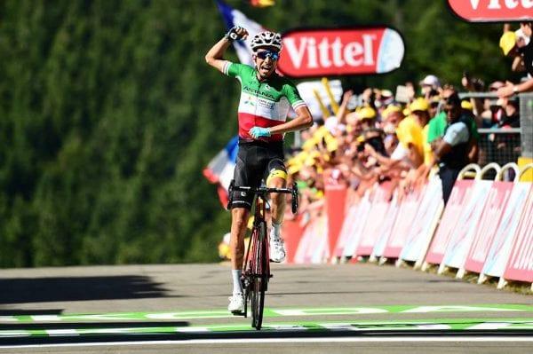 Aru gana en la quinta etapa del Tour de Francia